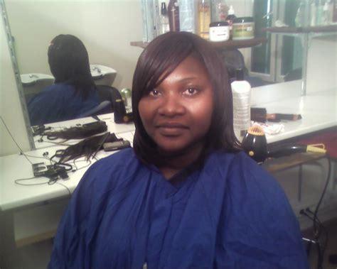 tissage demi tete avec frange et ferme id 233 es coiffure