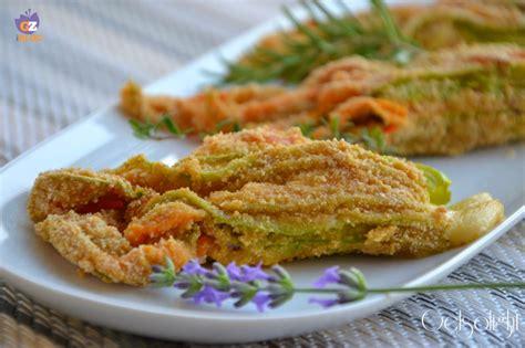 fiori di zucca ricette light fiori di zucca ripieni al forno ricetta leggera con un