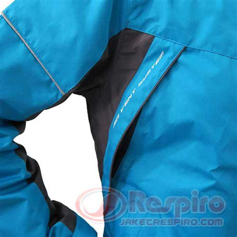 Respiro Cosmo Blue Charcoal Jaket Touring Biker jaket wanita respiro essenzo signavent w r1 jaket