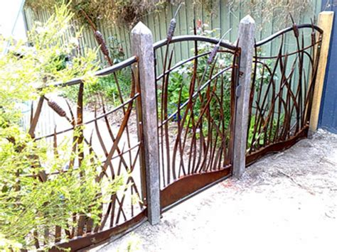 Metal Garden Fencing Ideas Image Detail For Metal Garden Fence And Gate Decorative Metal Garden Gates Pinterest