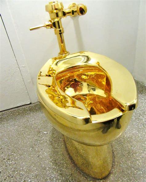 golden toilet eye on design maurizio cattelan america the worley gig