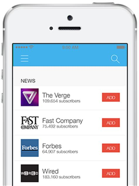 News Feed Ios App Template News Feed Template