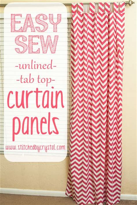 curtain sewing tutorial she makes it look so easy curtains1 by