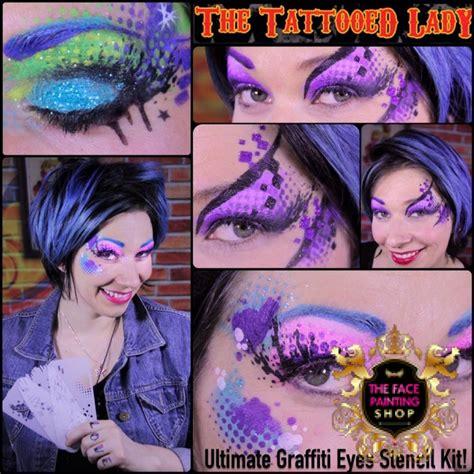 tattoo kits calgary graffiti eyes stencil kit