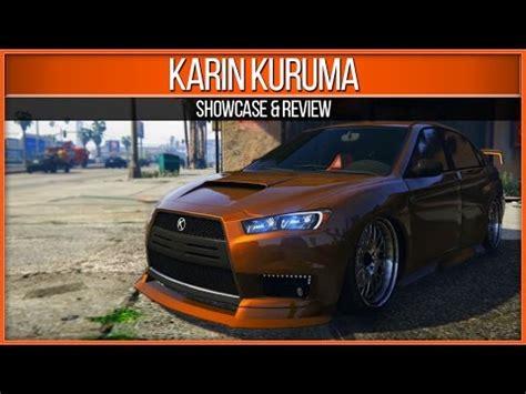 gta 5 online heists: kuruma showcase & review youtube