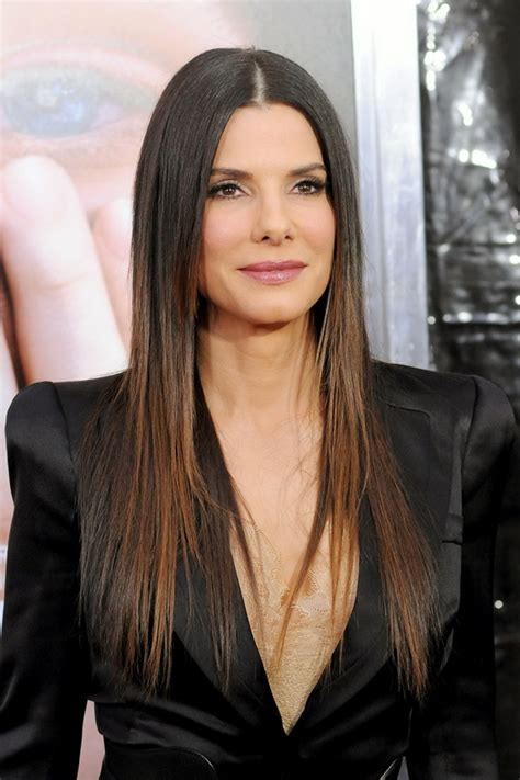 jesse james long hair sandra bullock hairstyles