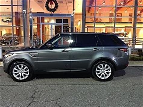 find used 2014 range rover sport hse, corris gray exterior