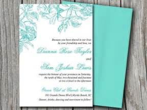 wedding invitations on microsoft word diy wedding invitation microsoft word template botanical
