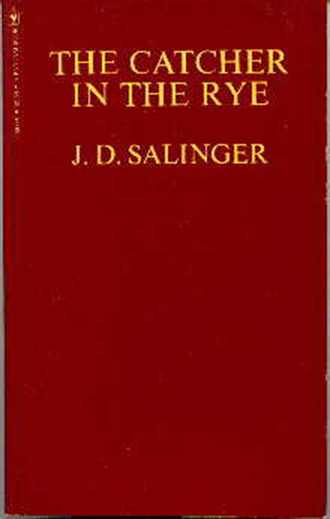 catcher in the rye outsider theme j d salinger