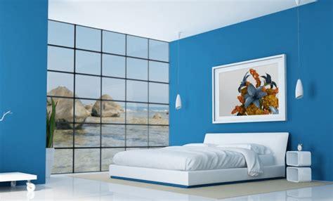 kumpulan desain kamar tidur warna biru terbaru desain cantik