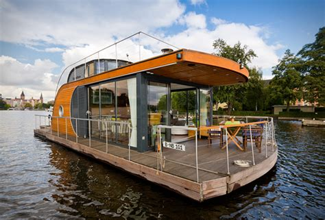 floating house boat nautilus houseboats