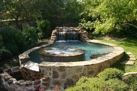 luxury backyards luxury backyards traditional pool by