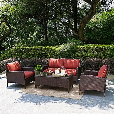 Crosley Kiawah Patio Furniture Collection Bed Bath Beyond Crosley Outdoor Furniture