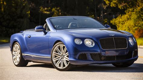 blue bentley bentley continental gt convertible blue wallpaper
