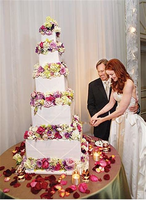 marcia cross tom mahoney wedding marcia cross and tom mahoney celebrity wedding cake