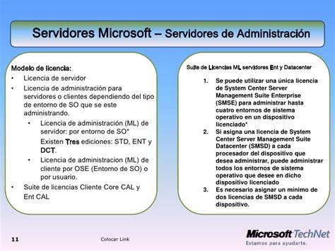 tipos de licencias de microsoft licencias microsoft actualizacion2009