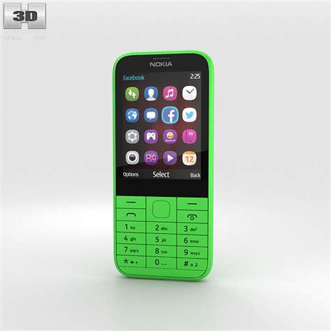 Www Hp Nokia 225 nokia 225 green 3d model humster3d