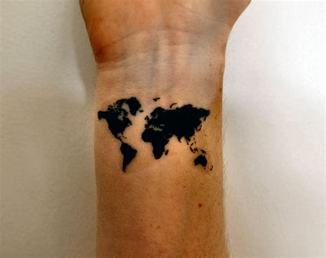 tattoo of the world map of the world nextread me