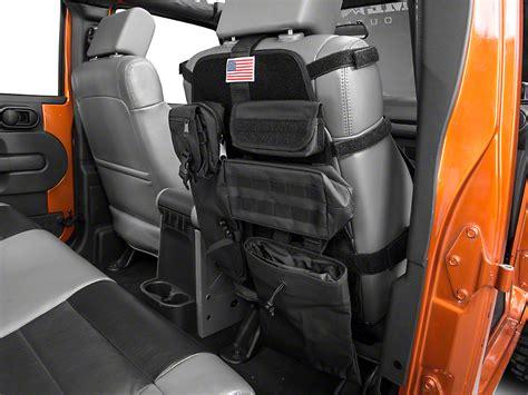 rugged ridge seats rugged ridge wrangler front cargo seat cover black 13236