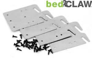 Bed Frame Hook Plates Bedclaw Retro Hook Plates For Wooden Bed Rail Restoration Set Of 4 With Screws