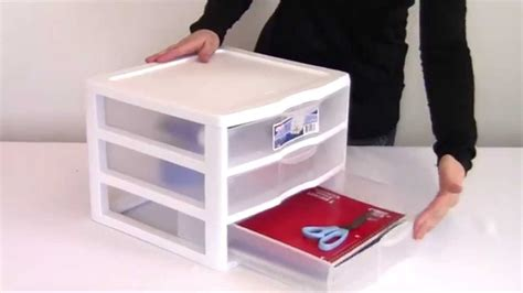 Plastic Three Drawer Organizer drawer cool 3 drawer storage container ideas plastic 3 drawer storage container ideas
