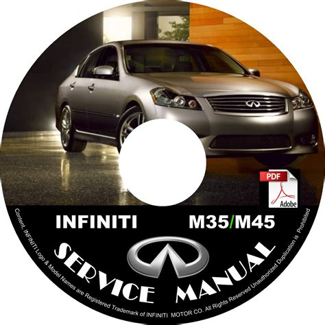 best car repair manuals 2001 infiniti g electronic 2009 infiniti m35 m45 factory service repair shop manual on cd fix repair rebuild 09 workshop guide