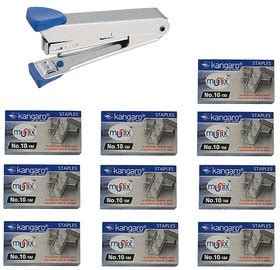 Kangaroo Stapler No 10 staplers and punches buy staplers and punches in