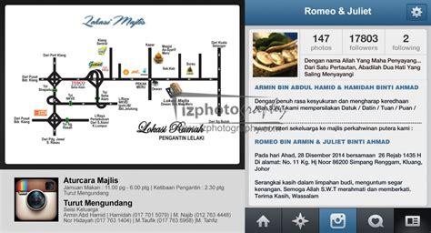 Design Kad Kahwin Instagram | 187 kad kahwin
