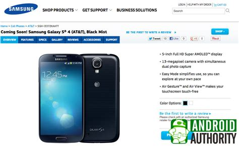 galaxy s4 models verizon at t sprint t mobile and u s cellular listed on samsung s website