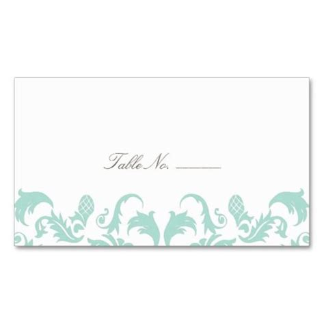 guest table cards template 264 best damask business card templates images on