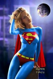 kaley cuoco super gal body painted super hero gals kaley cuoco bodies
