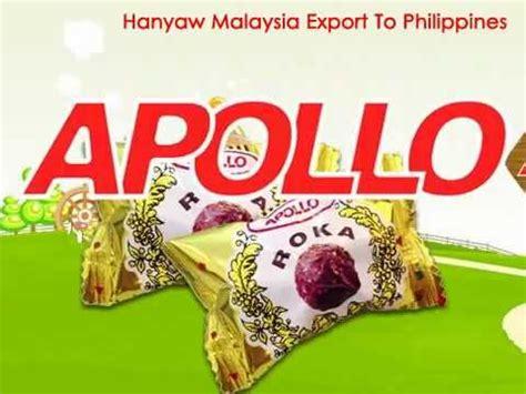 Coklat Apollo Roka apollo chocolate wafer roka 1070 hanyaw malaysia