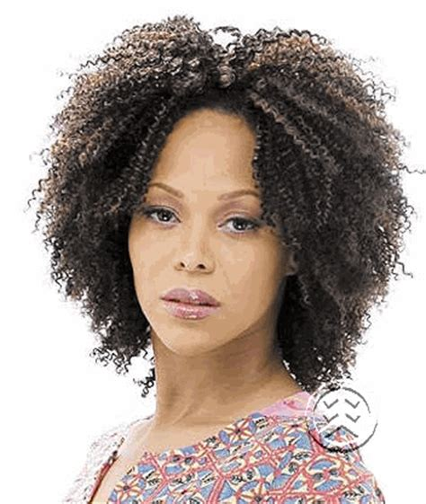 milky way 100 human hair short cut weave afro tempest 5 milky way short cut series 100 human hair 3pc cork screw