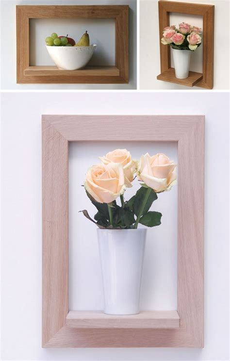 Frame Shelf by Object Frame Wall Display Shelves Meet Picture Frames