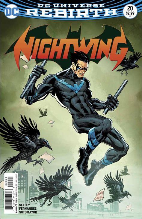 Dc Comics Nightwing 23 August 2017 nightwing 20 b jul 2017 comic book by dc