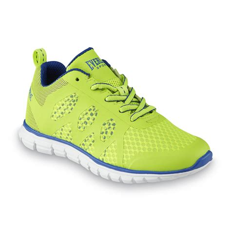 neon athletic shoes everlast 174 sport boy s artifice neon green blue athletic shoe