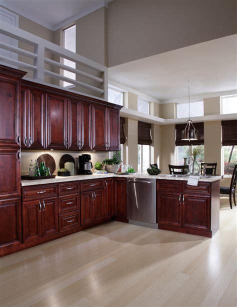 Mahogany Kitchen Cabinets by B Jorgsen Co St Mahogany Kitchen Cabinets