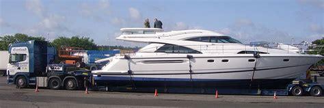 john shepherd boat transport kilmarnock specialist boat transfer service