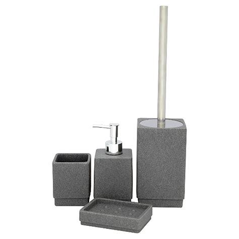 Range Bathroom Accessories Bathroom Range Charcoal Sandstone Bathroom Accessories Asda Direct