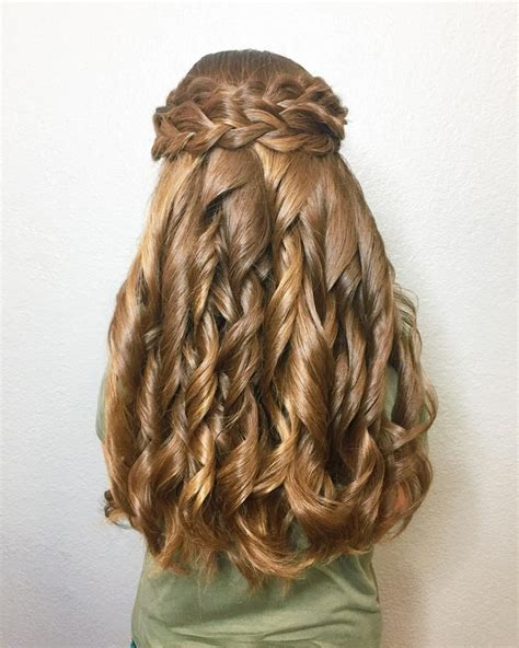 hair styles for the ball cute down homecoming hairstyles hairstyles