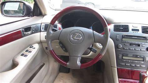 2004 lexus es330 interior 2004 lexus es330 black stock 121402a interior