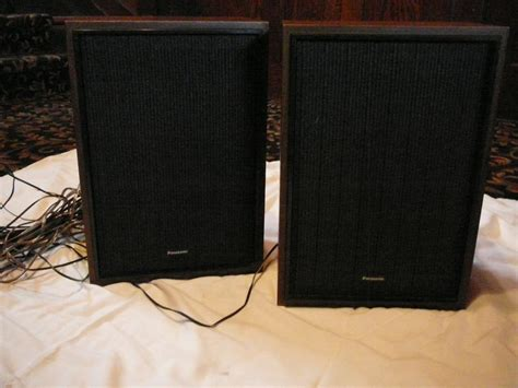panasonic sb 308 bookshelf speakers 15 watts 8 ohms