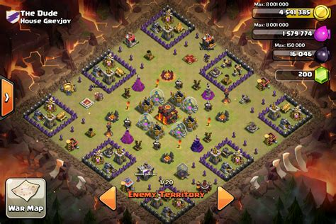 clash of clans th10 war base layout coc th10 war base myideasbedroom com