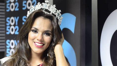 imagenes de miss universo guatemala 2015 miss universe guatemala visita soy502 youtube