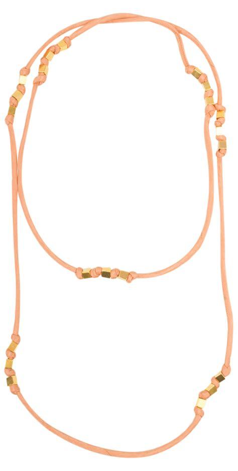 Adena Necklace by Masai Clothing Adena Necklace In Melon