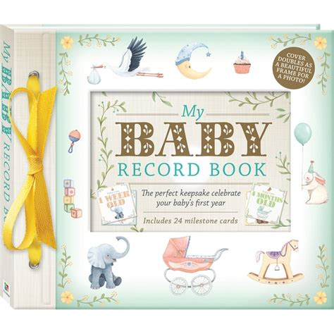 My Baby Book my baby record book deluxe baby and early learning books