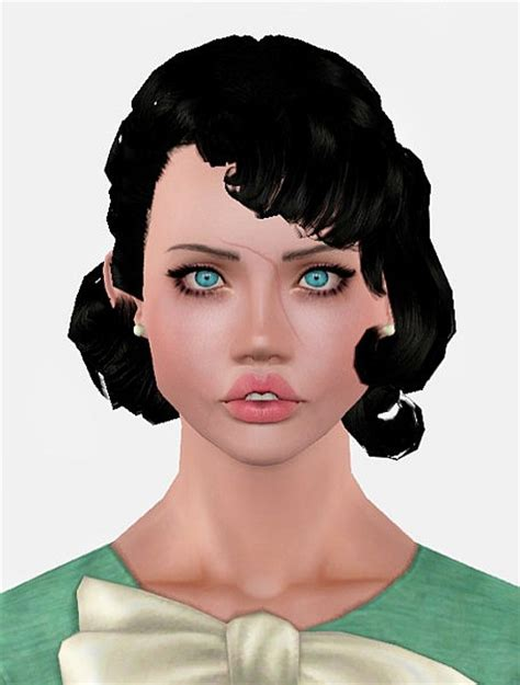 1800s hairstyles for sims 3 the sims 3 retro hairstyle retextured by momo