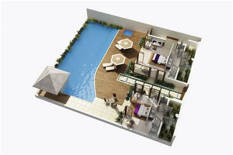 house plan 3d vacation getawy 3d house plans floor plans pinterest vacation 3d house plans
