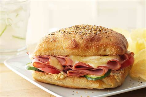 ham cheese sub sandwich ham and cheese sandwiches a perfect treat tailgating