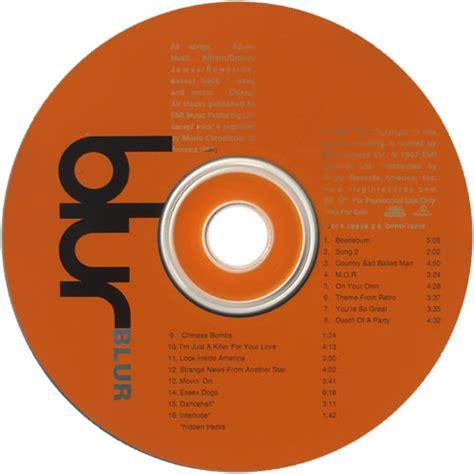 Cover Cd blur blur album covers